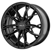 "Helo HE907 18x8 5x112 +40mm Gloss Black Wheel Rim 18"" Inch"