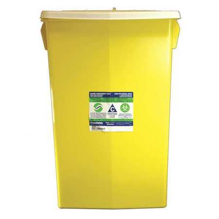 "11"" Chemo Waste and Sharps Container, Covidien, SCWC100985"