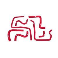 Mishimoto MMHOSE-SUB-ANC4RD 04-07 STI / 06-07 WRX Red Silicone Ancillary Hoses