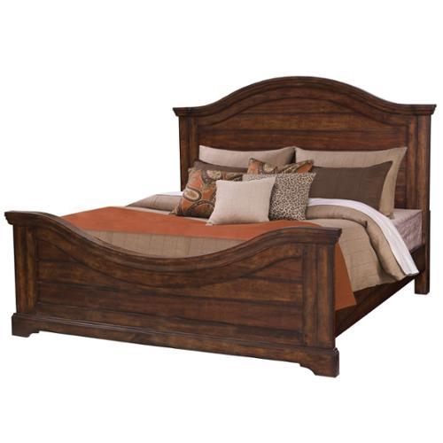 Greyson Living Lakewood Wood Panel Bed Lakewood Brown King Panel Bed