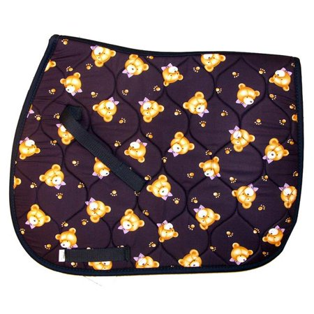 Exselle 158300 All Purpose Saddle Pads for Ponies Teddy Bears All Purpose English Saddle Pad