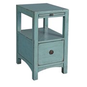 Coast To Coast One Drawer Chairside Table