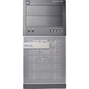 Refurbished Dell Optiplex 990-T WA1-0393 Desktop PC with Intel Core i5-2400 Processor, 8GB Memory, 2TB Hard Drive and Windows 10 Pro (Monitor Not Included)