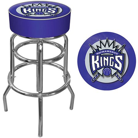"Trademark Global NBA Sacramento Kings 31"" Padded Swivel Bar Stool by"