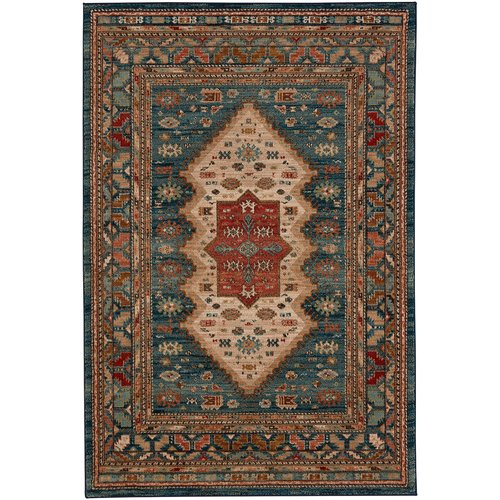 Karastan Spice Market Mandeb Sapphire Red Area Rug by Mohwak Home