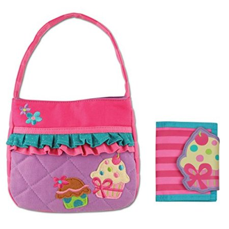 Quilted Cupcake Purse and Cupcake Wallet Combo - Gifts for Girls - Gift Bags For Girls