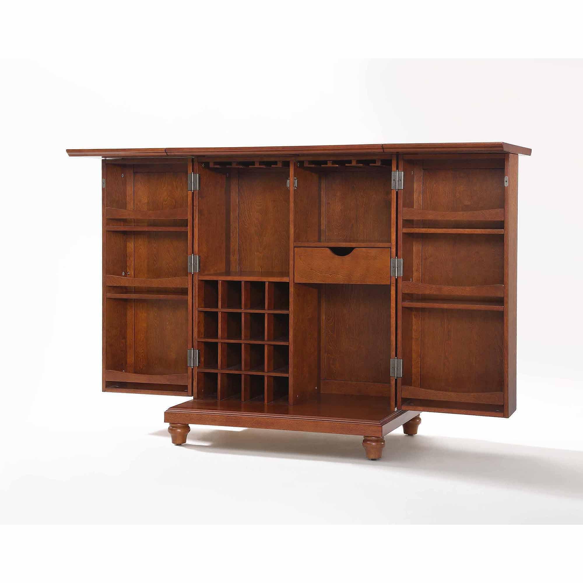 Crosley Furniture Cambridge Expandable Bar Cabinet - Walmart.com
