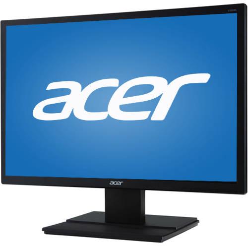 """Acer 22"""" LCD Widescreen Monitor (V226WLBMD Black), Manufacturer Refurbished"""