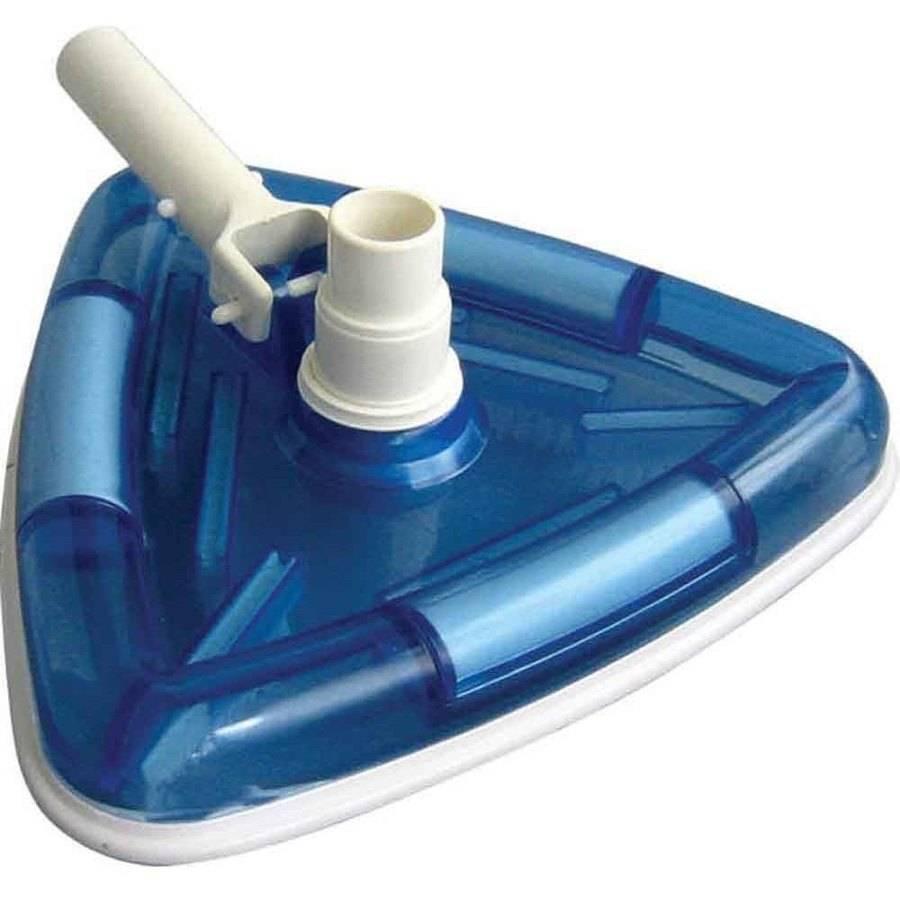 Robelle Transparent Triangular Vacuum Head for Swimming Pools