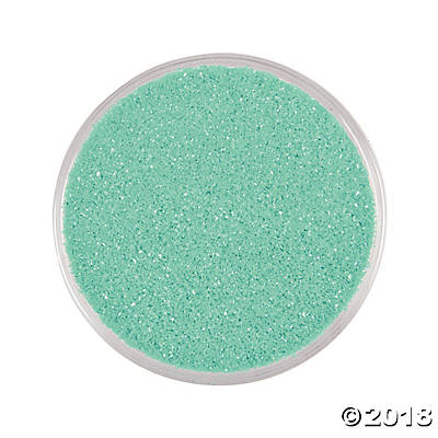 Mint Green Craft Sand(pack of 1)