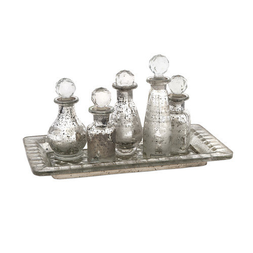 Wildon Home   6 Piece Macaire Mini Decorative Bottle Set
