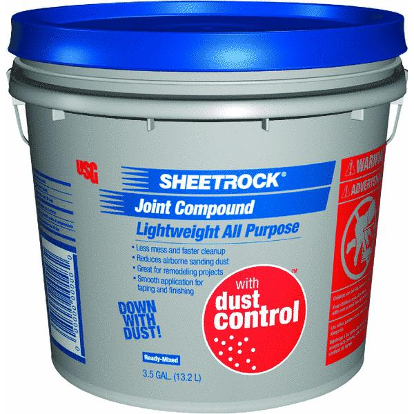Sheetrock Pre-Mixed Lightweight All-Purpose Dust Control Drywall Joint Compound