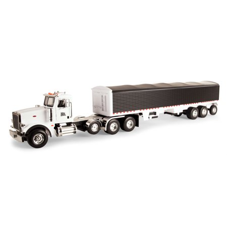 Big Farm Peterbilt Model 367 with Grain Trailer