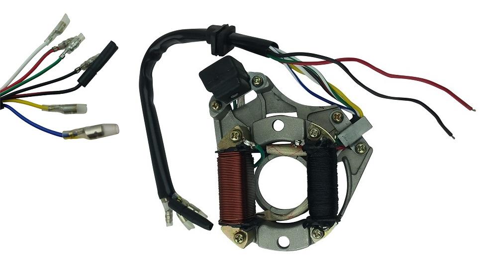 XinXinFeiEr 50cc 110cc 125cc 2 coil ATV Quad Stator Ignition Coil Magneto Plate Chinese durable