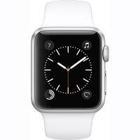 Refurbished Apple Watch Gen 2 Series 2 38mm Silver Aluminum - White Sport Band MNNW2LL/A