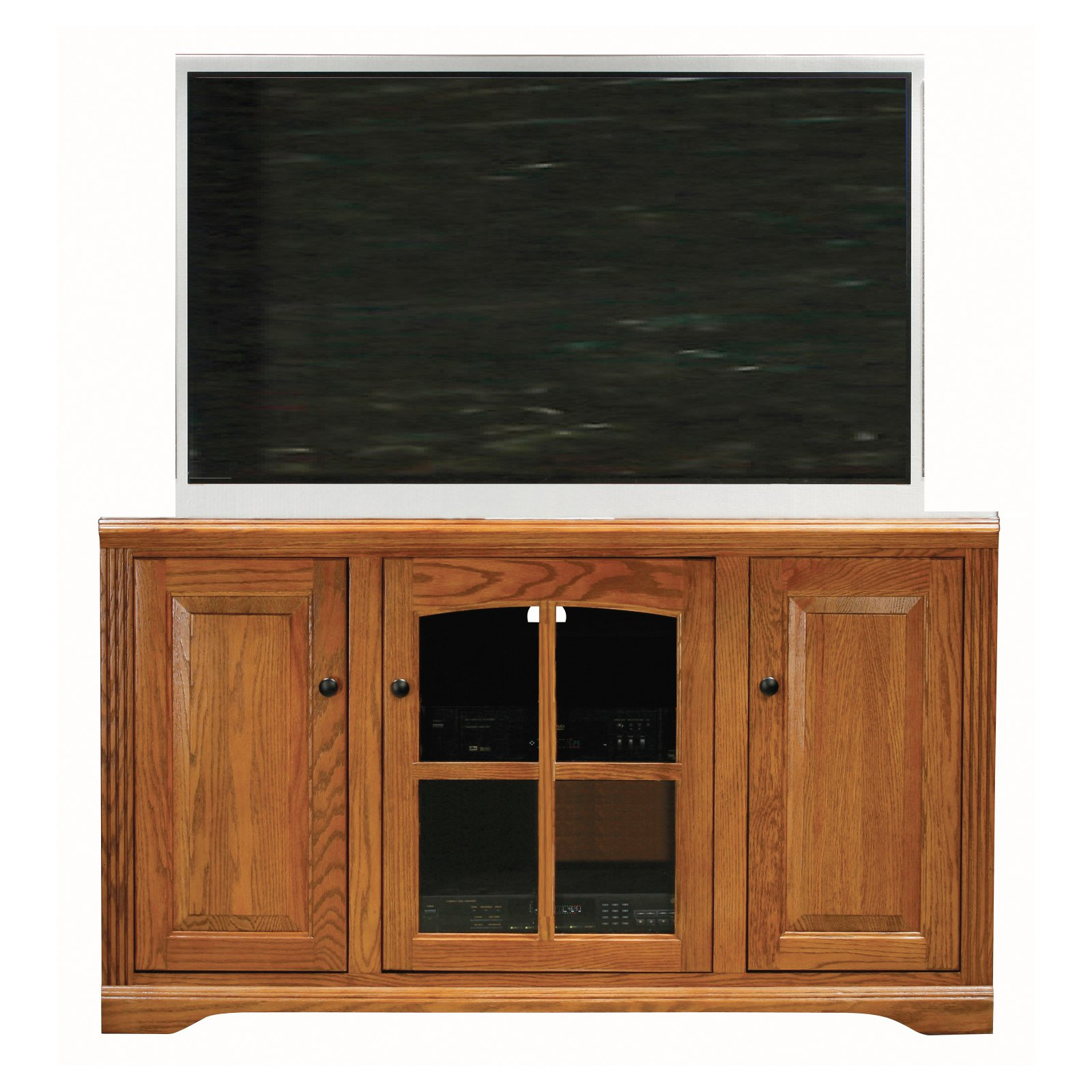 Eagle Furniture Oak Ridge Customizable 55 in. Tall Entertainment Console