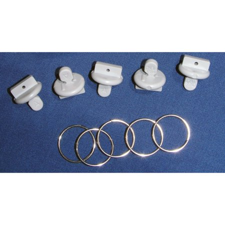 "Fasteners Unlimited 46123 ""Twist To Lock"" Awning Accessory Hanger And Stop - Dometic Roller Tubes"