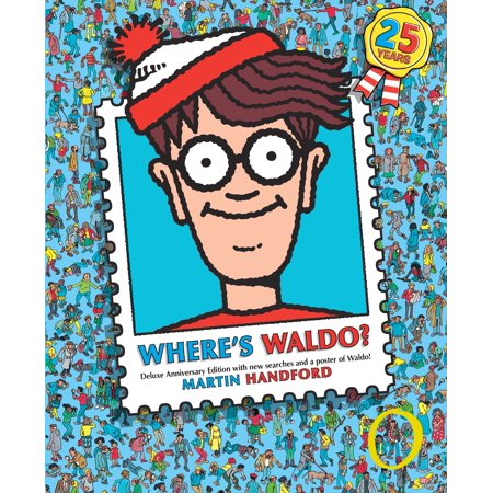 Where's Waldo?: Deluxe Edition (Anniversary) (Hardcover) - Wario Girl