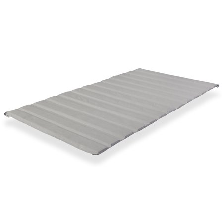 WAYTON, Covered Wooden Bed Covered Slats/Bunkie Board, Queen Size 79