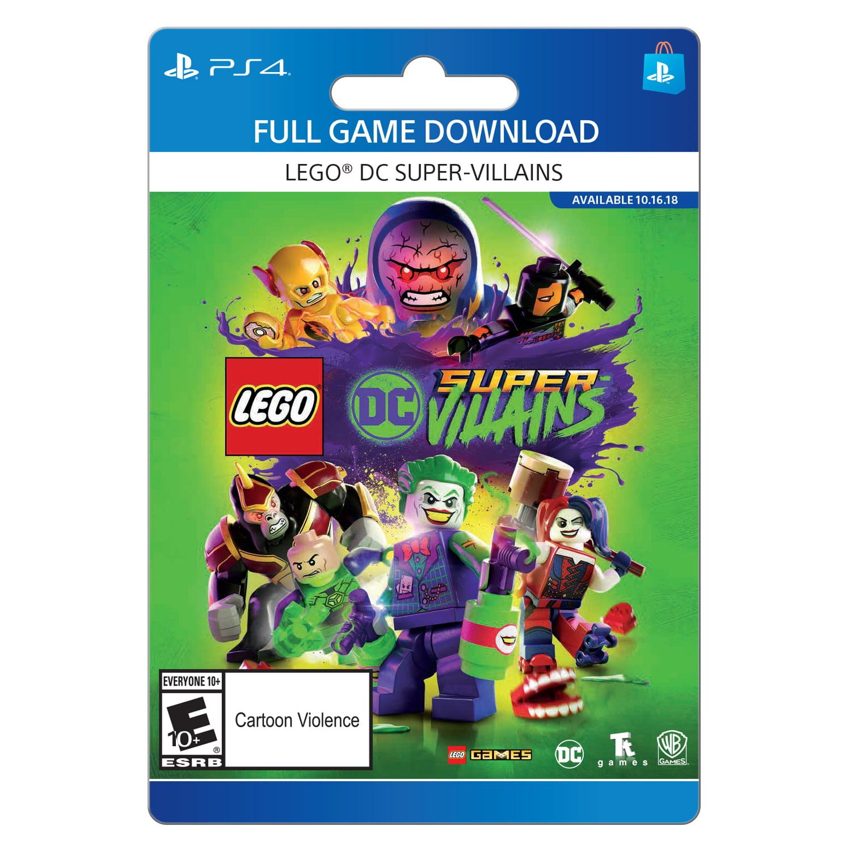 LEGO DC Super-Villains, Warner Bros., Playstation, [Digital Download]