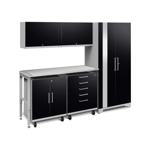 NewAge Products Performance Plus 2.0 Series 85.25'' H x 97'' W x 24'' D Complete Storage System