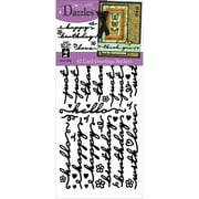 Dazzles Stickers-Card Greetings-Black