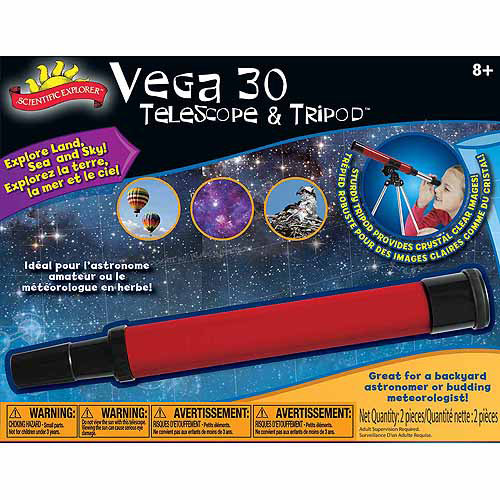Scientific Explorer Vega 30 Telescope and Tripod by Slinky
