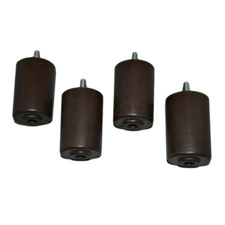 Recliner Handles Replacement Furniture Legs 3 Set Of 4 Plastic Brown