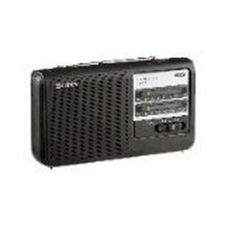Sony Portable AM FM Radio BLACK by