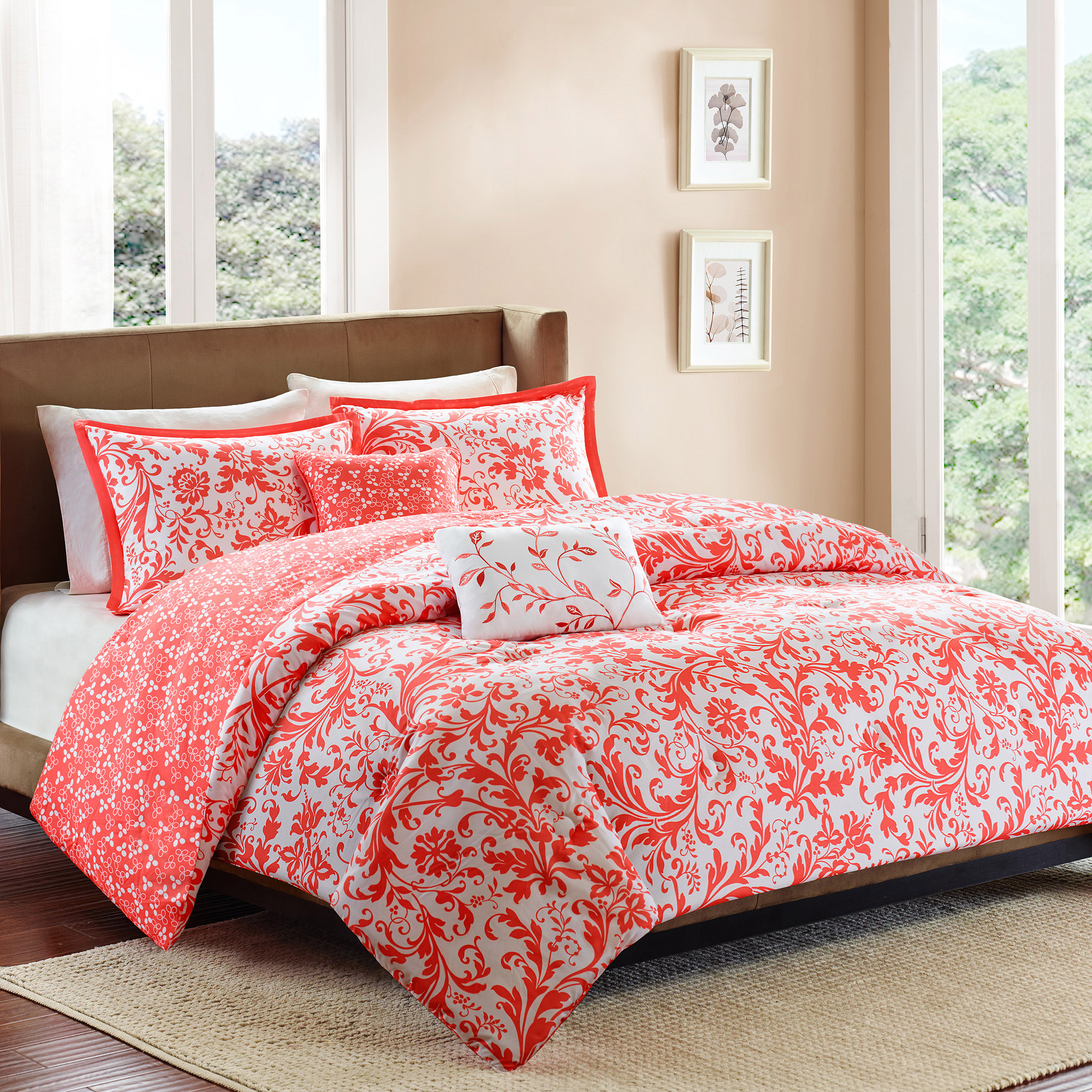 set p metaphor hei qlt prod comforter orange sets aspect wid king