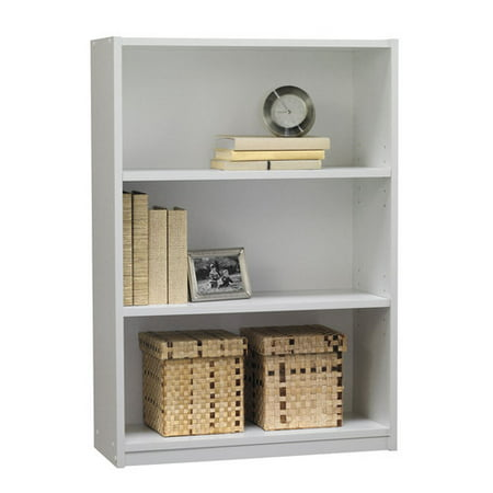 Mainstays 3-Shelf Bookcase, White - Mainstays 3-Shelf Bookcase, White - Walmart.com
