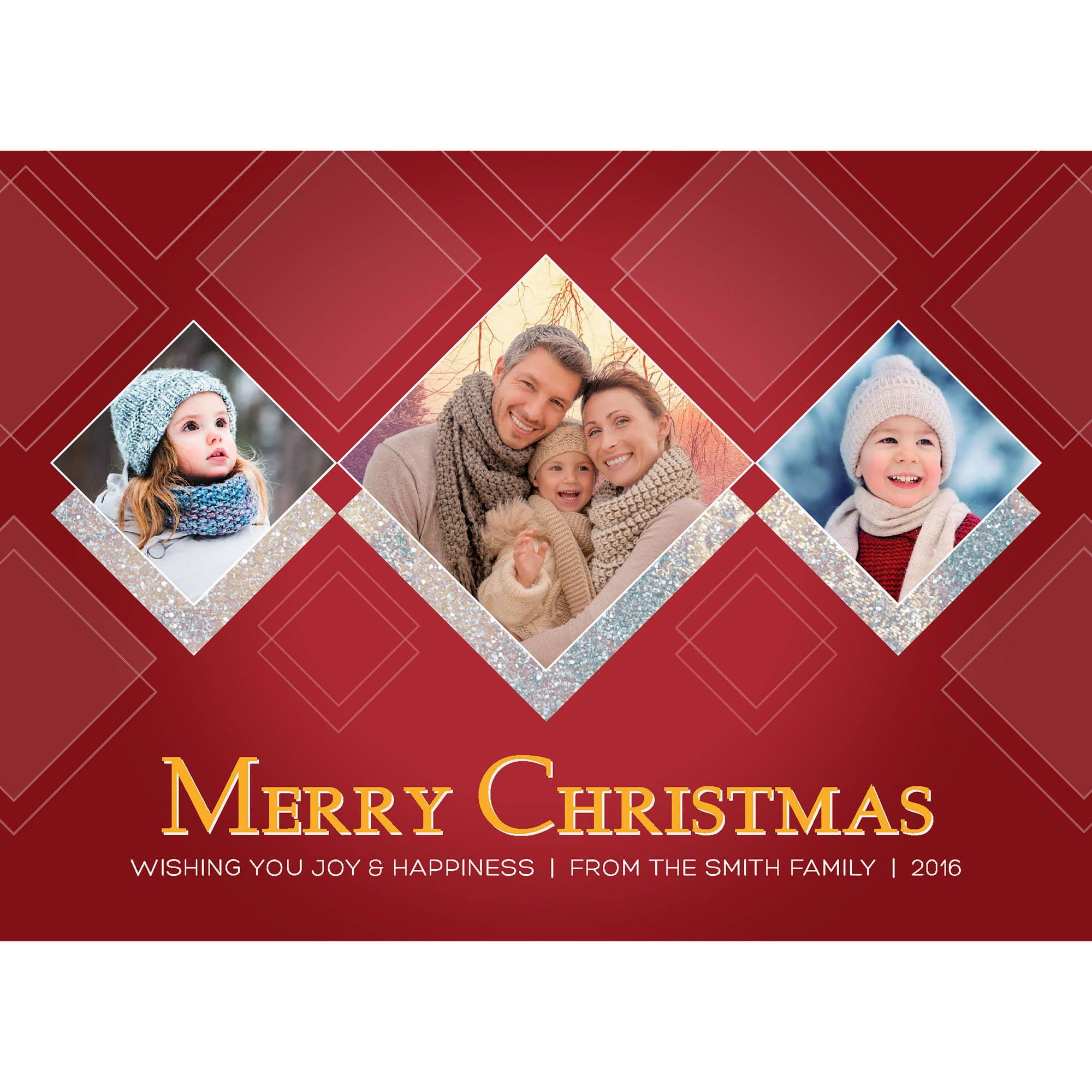 A Gilded Christmas Holiday Card