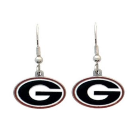 NCAA Georgia Bulldogs Dangle Earrings, Officially licensed College product Licensee: Siskiyou Buckle By