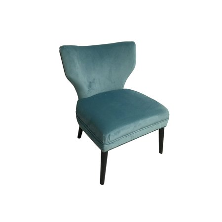 1950s Accent Chairs.Hd Couture Briar Chair Accent Chair Blue