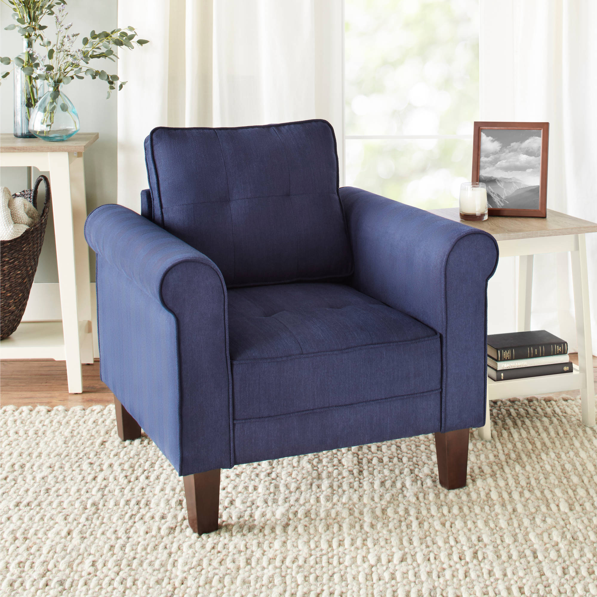 10 Spring Street Ashton Microfiber Lounge Chair by