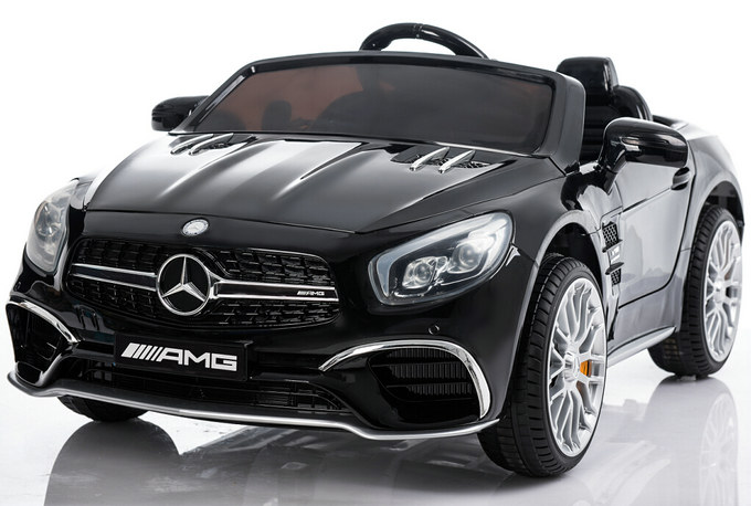 New 12V Mercedes AMG SL65 Ride on Power Electric Car For Kids Wheel with Remote Control Opening doors MP3 LED... by
