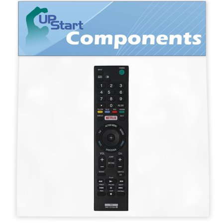 2 Pack Replacement Sony RMT-TX100U TV Remote Control for Sony 40R530C Television - image 2 of 4