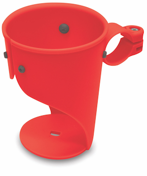 Delta Cycle Grande Beverage Holder, Red