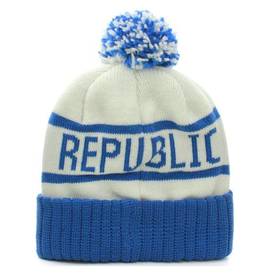 43fa4fe715b American Cities - American Cities California Republic Cuff Beanie Cable  Knit Pom Pom Hat Cap - Walmart.com