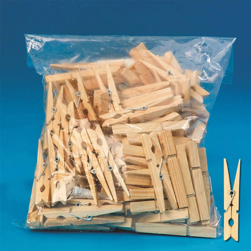 "Clothespins Spring 2-3/4"", Pack of 100"