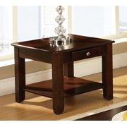 Steve Silver Nelson End Table in Dark Wood