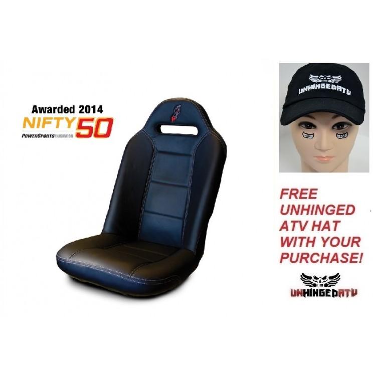 BLACK Dragonfire Racing HighBack XL Seat - Fits: RZR XP 4...