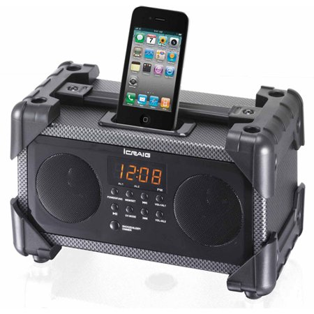 icraig cmb3228 dual alarm clock digital pll fm stereo. Black Bedroom Furniture Sets. Home Design Ideas