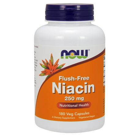 Niacin pills flush free
