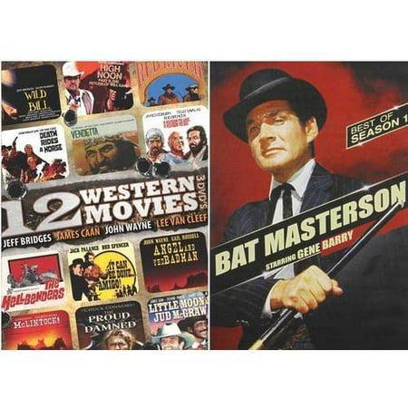 Image of 12 Westerns / Bat Masterson: Season One