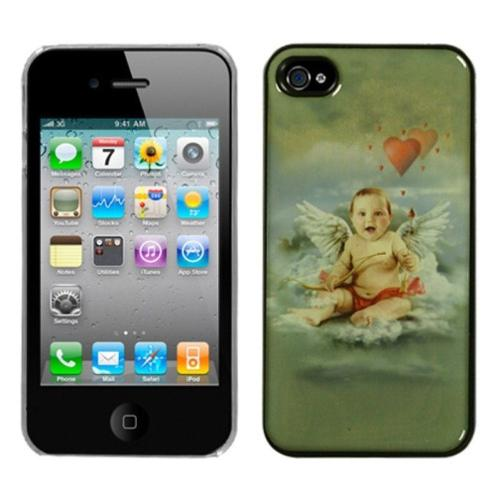 Insten Cupid Dream Back Case For iPhone 4 4S