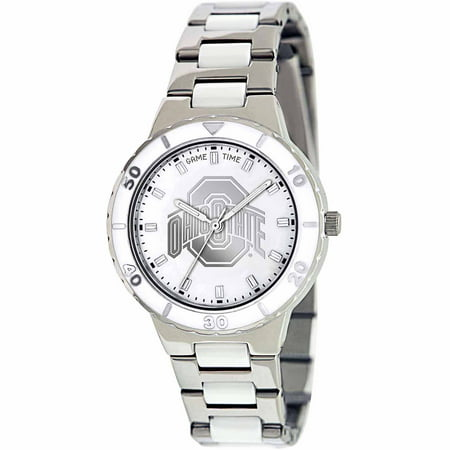 Game Time NCAA Women's Ohio State University Buckeyes Pearl Series Watch