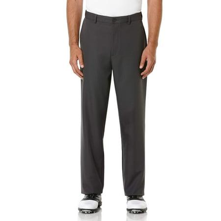 Big Men's Performance Flat Front Expandable Waistband (Tiger Woods Golf Pants)