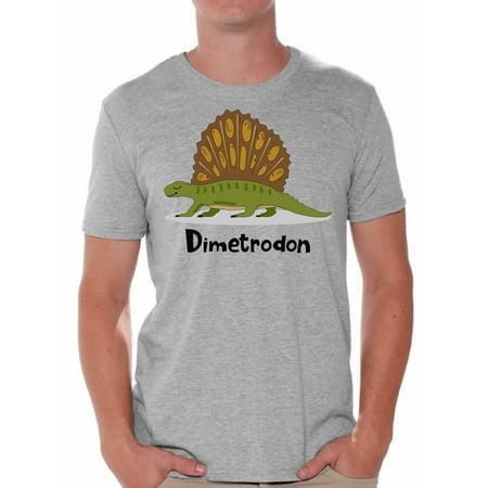 Awkward Styles Dimetrodon Dinosaur Shirt Dinosaur Tshirt for Men Dinosaur Gifts for Him Dinosaur Party Outfit Funny Dinosaur T Shirt Spirit Animal Shirt Men's Dinosaur T-Shirt Dinosaur - School Spirit Outfit Ideas