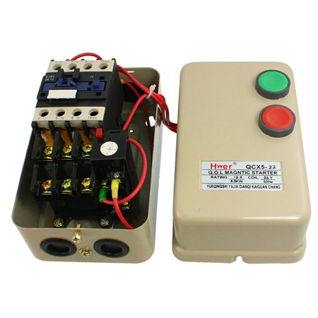 7 5 hp three phase motor magnetic starter ac contactor 36v for 3 hp motor starter